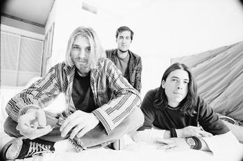 Kurt, Krist y Dave