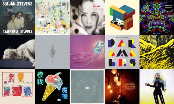 Top 15 discos de 2015